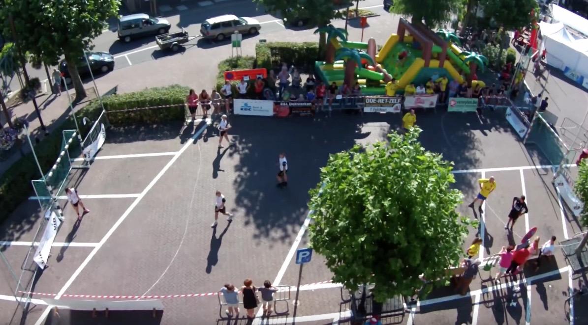 drone photo SH street handball event sporting nelo belgium 2015 7