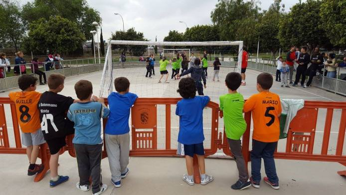 342 2016 Balonmano Calle Mislata Street Handball1