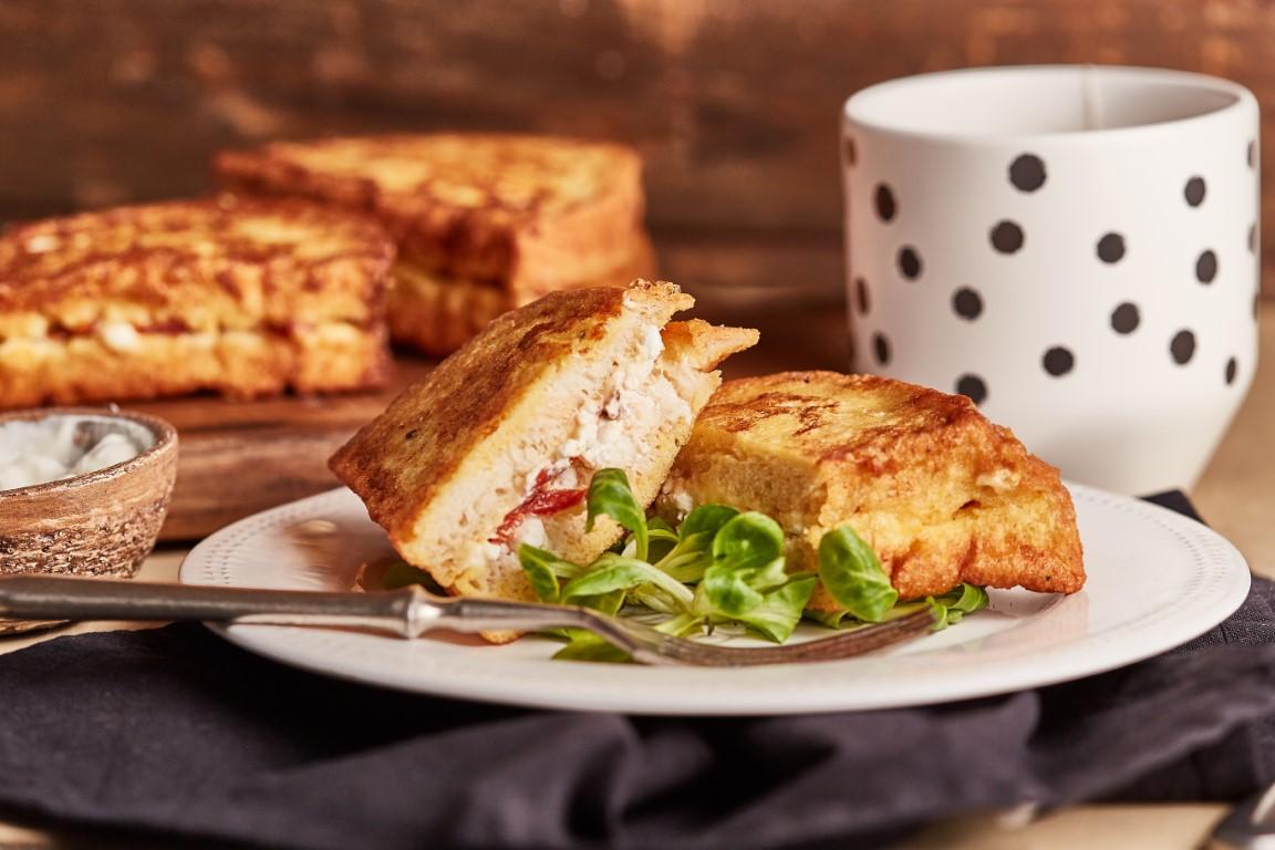 Bundáskenyér szendvics recept