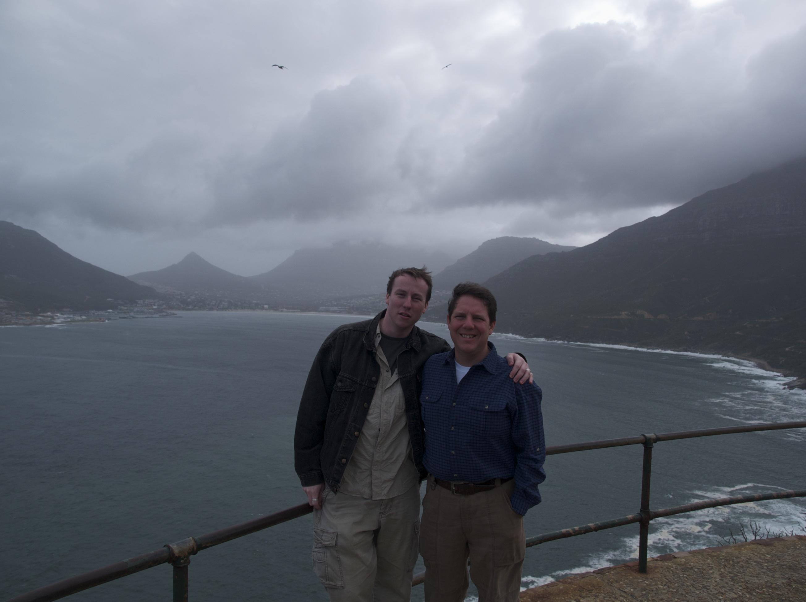 Kyle and Julius Capetown