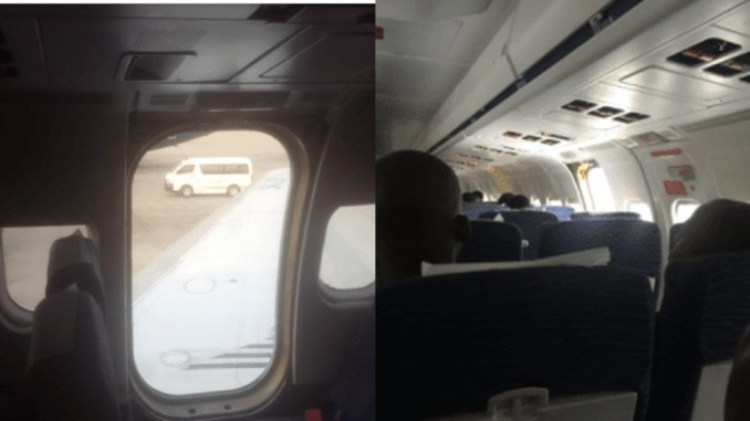 Image result for Dana Air Speaks On Aircraft Door That Fell Off
