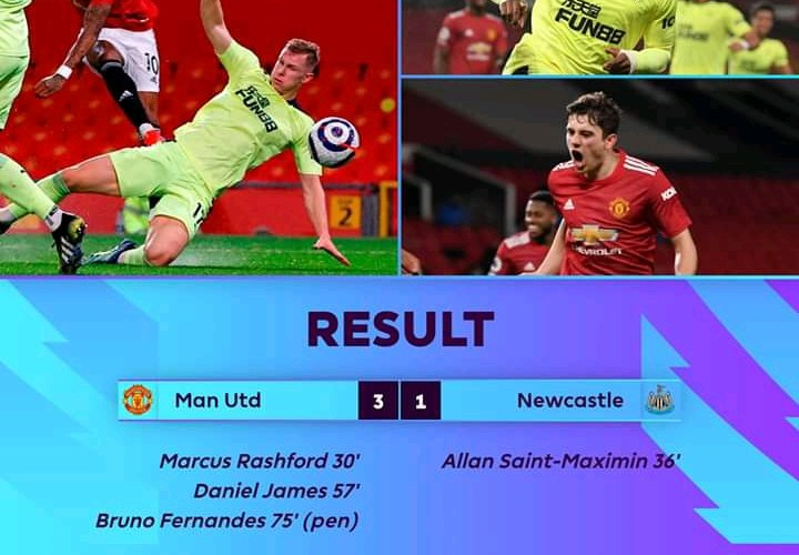 Manchester United vs Newcastle 3-1 – Highlights [DOWNLOAD VIDEO]