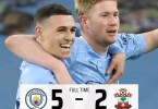 Manchester City 5 - 2 Southampton - Highlights [DOWNLOAD VIDEO]