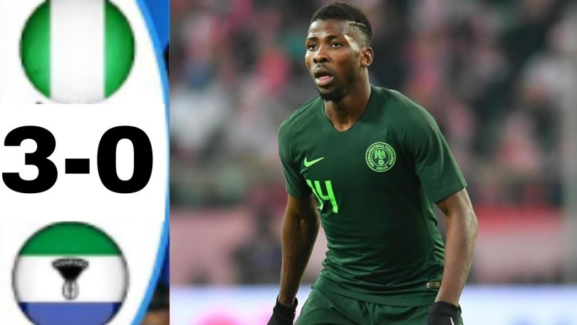 Nigeria 3-0 Lesotho - Highlights AFCON2021 [DOWNLOAD VIDEO]