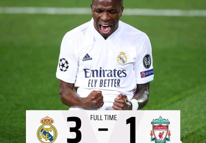 Real Madrid 3-1 Liverpool - Goal Highlights