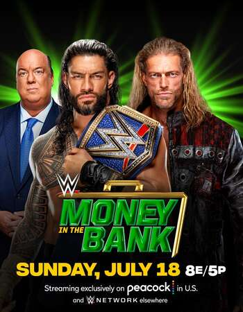 WWE Money in the Bank 18th July (2021)