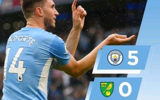 Manchester City 5-0 Norwich City - Goal Highlights [DOWNLOAD VIDEO]