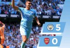 Manchester City 5-0 Arsenal - Goal Highlights [DOWNLOAD VIDEO]