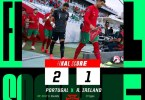 Portugal 2-1 Ireland - Goal Highlights [DOWNLOAD VIDEO]