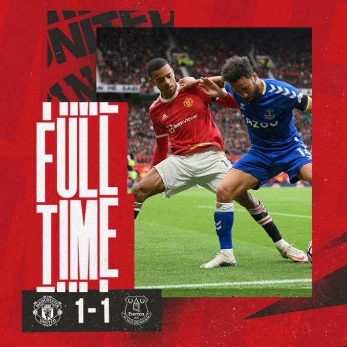 Manchester United 1-1 Everton – Goal Highlights [DOWNLOAD VIDEO]
