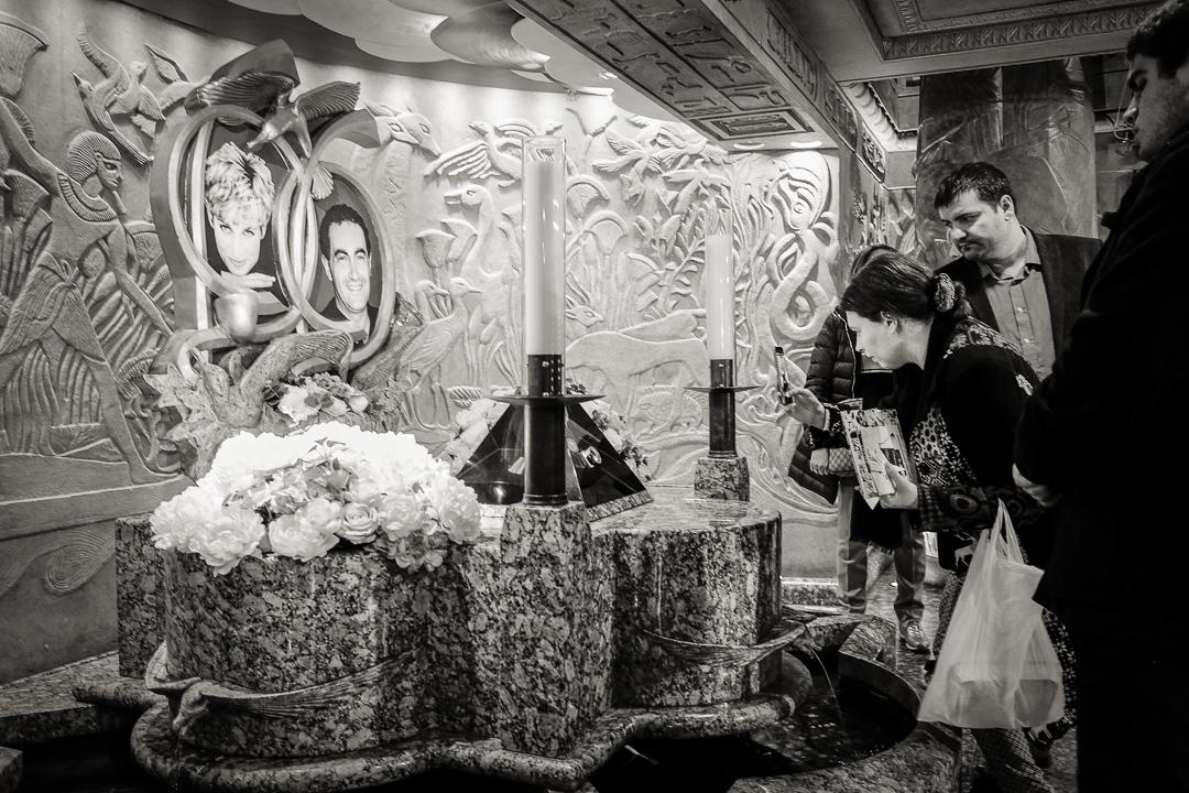 Harrod's, mémorial Lady Di et Dodi Al Fayed London