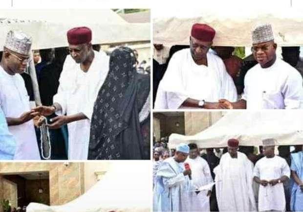Abba Kyari at public events buhari chief of staff