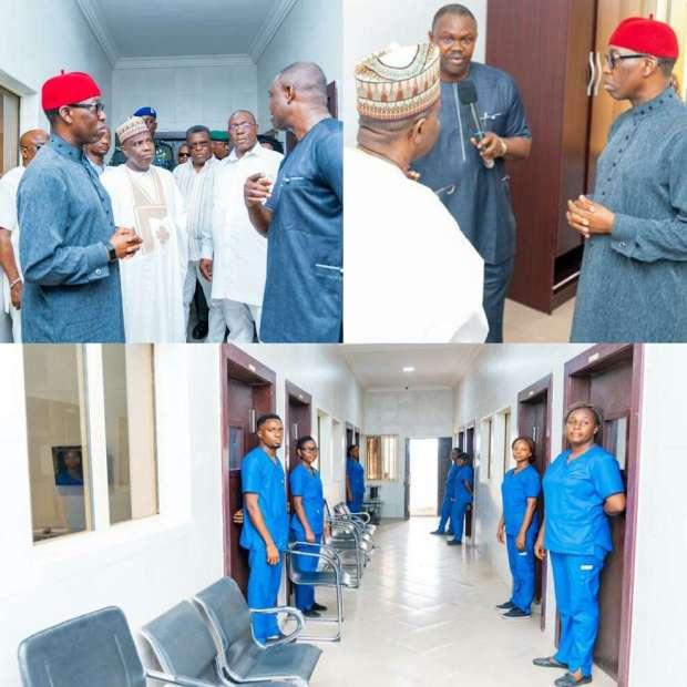 Tambuwal and Okowa Coronavirus Quarantine Centre