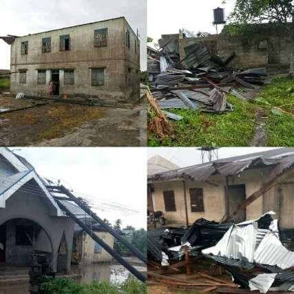 Rainstorm kills one, renders over 500 homeless in Delta
