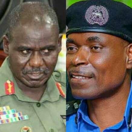 Tukur Yusuf Buratai and Mohammed Adamu COVID-19