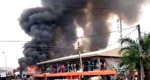 Delta Market Fire