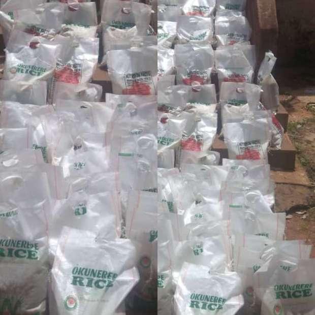 Palliative items rice