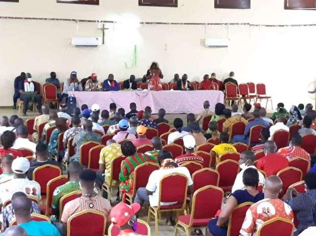 Ekwunife Meets PDP LGA Secretaries