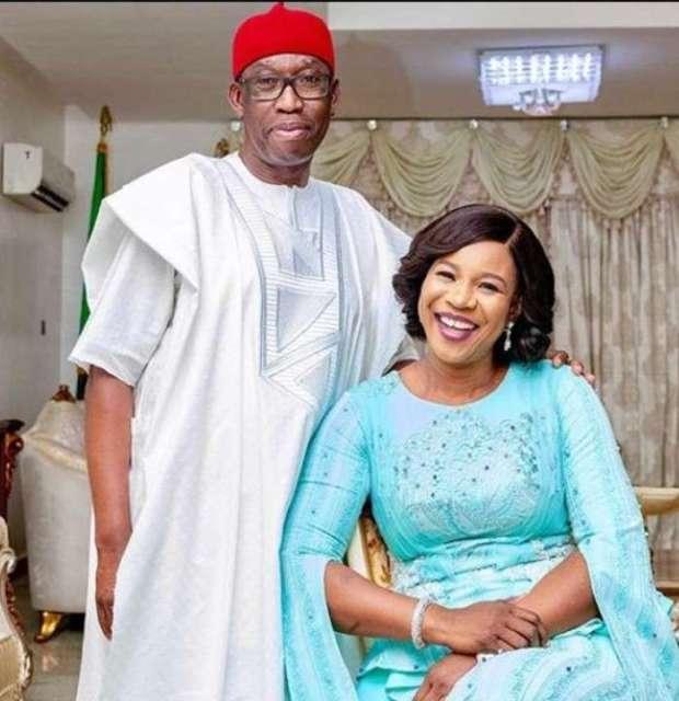 Ifeanyi Okowa and Dame Edith Okowa