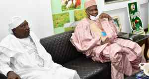 Gombe Governor Parleys Minister of Agriculture