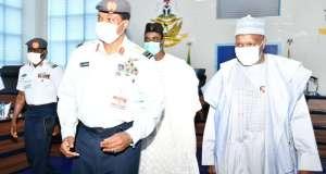 Governor Inuwa Yahaya Visits Chief of Air Staff 1