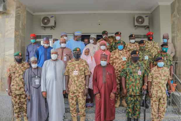 Governor Inuwa Yahaya Receives Chief of Army Staff, Promises Continuous Support to Nation's Ground Forces