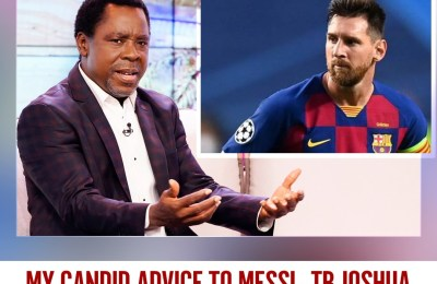 Messi Accepts TB Joshua's Advice