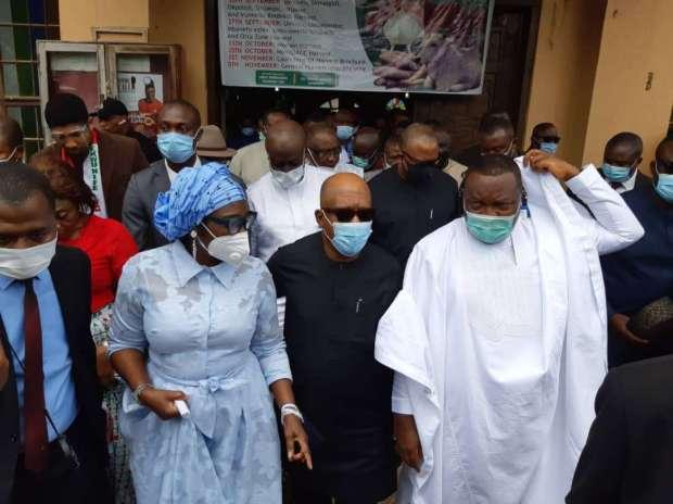 Ekwunife, Secondus, Ugwuanyi, Obi Others Mourn Sir Ephraim Ejeh