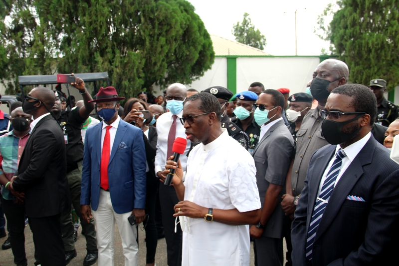 #ENDSARS Protests: Consequence of Leadership Failure - Okowa