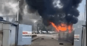 Breaking: TVC News, BRT Buses, Houses, Others Set Ablaze in Lagos 1