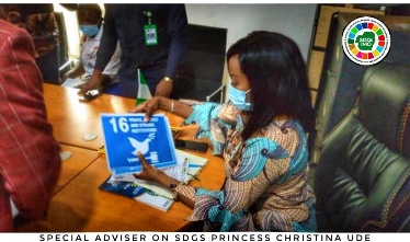 Imo SDG Boss, Princess Ude Hails Gov. Uzodinma On His Prompt Action to Restore Peace in Orlu