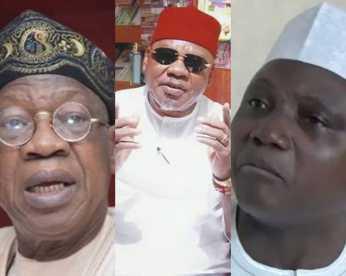 TI Corruption Rating: Sack Lai Mohammed, Garba Shehu - CNPP Urges Buhari