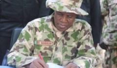 Maj. Gen. Bashir Salihi Magashi Defence Minister
