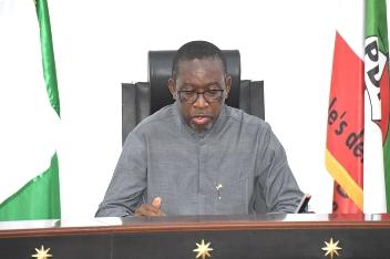 Senator Ifeanyi Okowa of Delta State