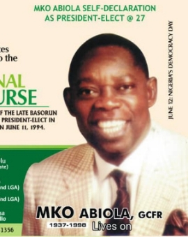 MKO Abiola Lives On As Nigerians Celebrate 27th Anniversary Of Epetedo Self-Declaration As President-Elect