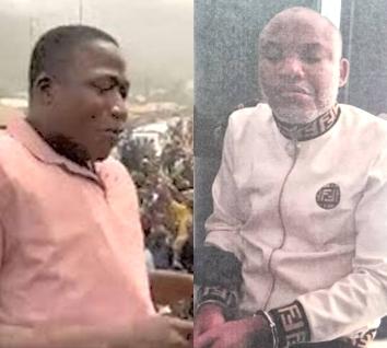 Sunday Igboho and Nnamdi Kanu