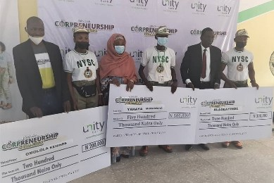 Unity Bank Corpreneurship Challenge Produces 30 More Winners in 6th Edition