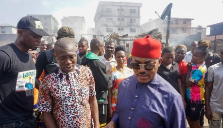 Godwin Maduka Dolls Out Funds to Support Victims of fire