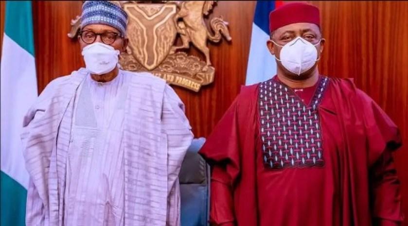 Muhammadu Buhari and Femi Fani-Kayode