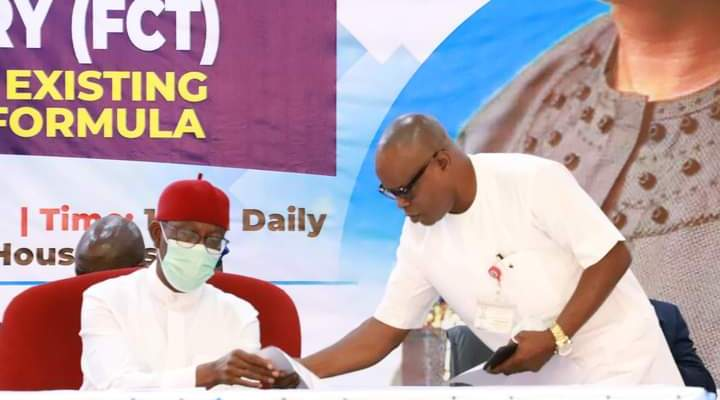 Okowa Wants NASS to Uphold True Federalism, RMAFC Independence