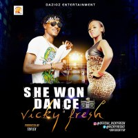 Download Vicky Fresh- She Won Dance| @VICKYFRESH35 ‏
