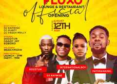 """This Thursday Is About to Get Lit At """"Fluxo"""" Luxury Restaurant, Outdoor Lounge And Nightlife Grand Opening"""