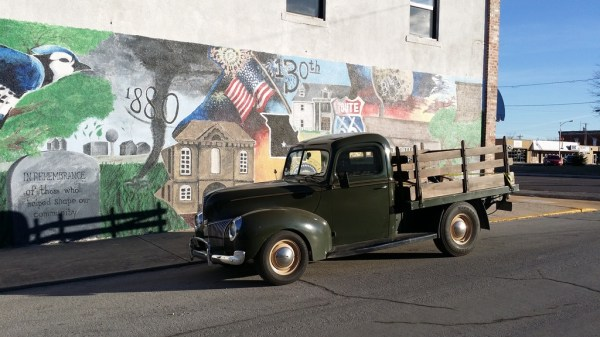 A cool mural, just off the square, in Marshfield.