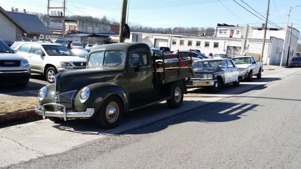 Happened to spot Deputy Barney Fife's car.
