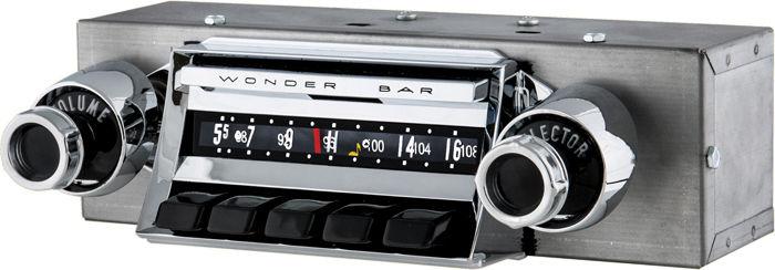 Street Rod Parts » Chevrolet Chevy Car Wonderbar AM/FM