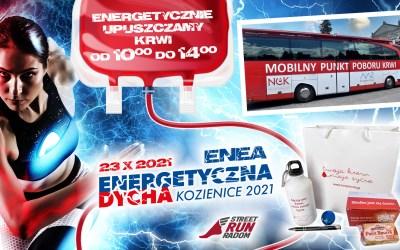 Krwiobus na Enea Energetyczna Dycha 2021