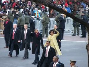 Obamas at 2009 Inaugural