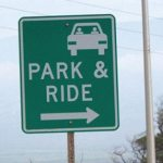 Park & Ride Sign