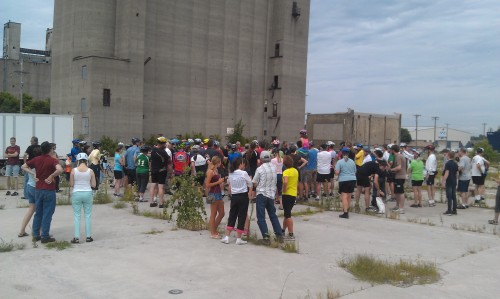 Back in my day, people had to climb to the top of old grain mills to get a taste of beer!