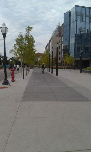 U of MN Cycletrack. Please, Minneapolis... More of this?